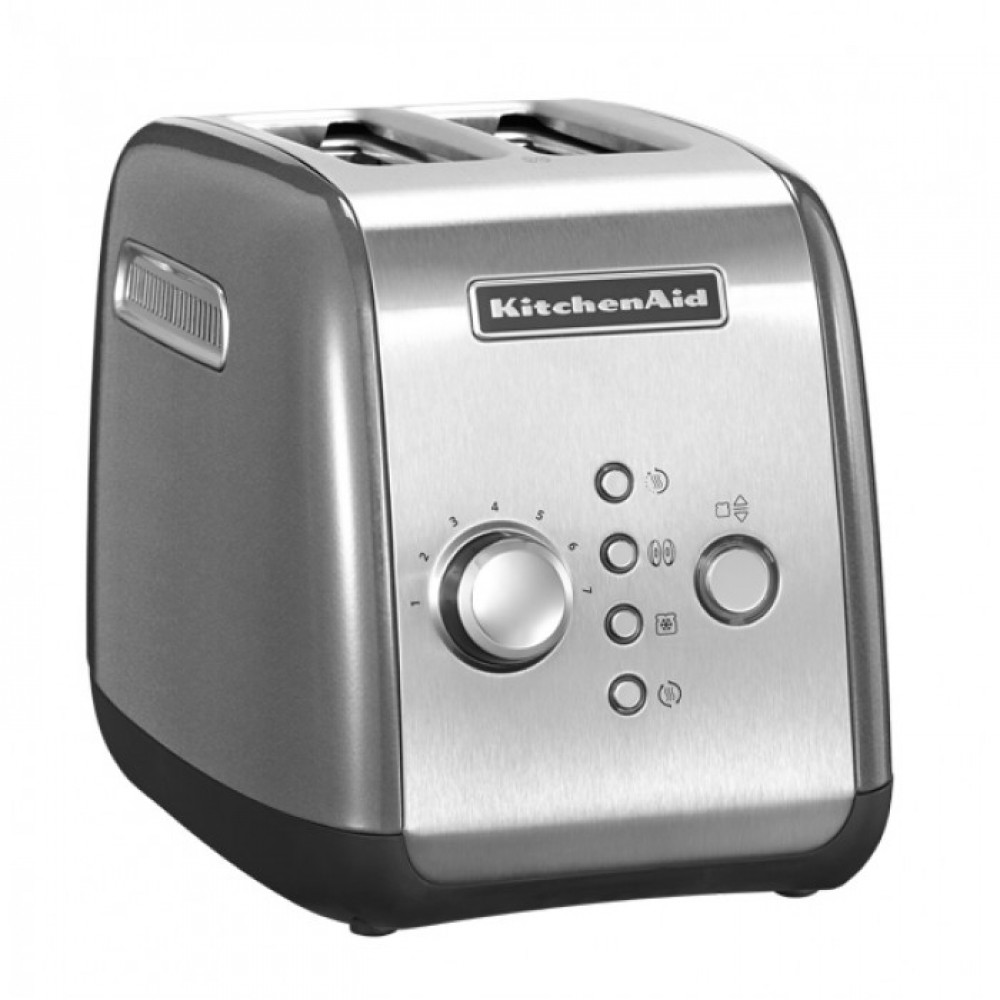 KitchenAid Тостер KitchenAid, серебристый, 5KMT221ECU