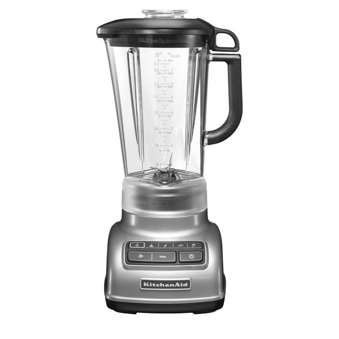 Блендер KitchenAid Diamond, серебристый, 5KSB1585ECU