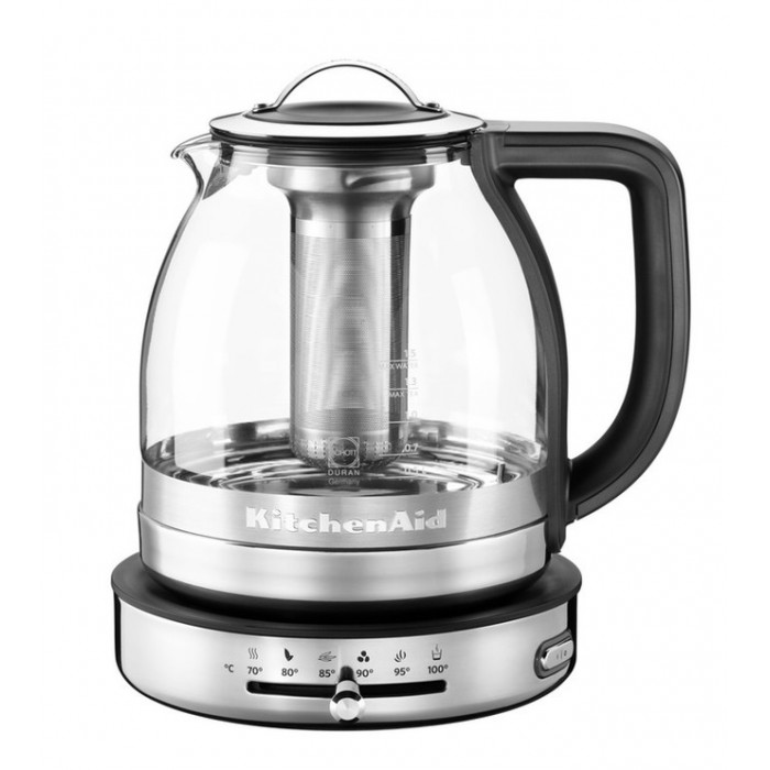 Чайник KitchenAid ARTISAN, стеклянный, 5KEK1322SS