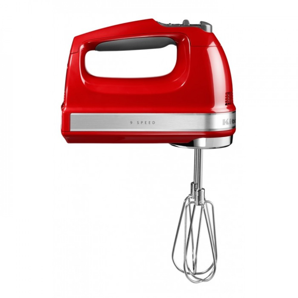 KitchenAid Ручной миксер KitchenAid, красный, 5KHM9212EER стационарный