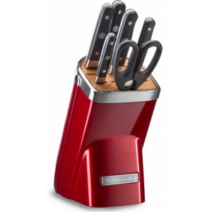 <b>Набор ножей</b> KitchenAid KKFMA07CA <b>7</b> предметов, карамельное ...